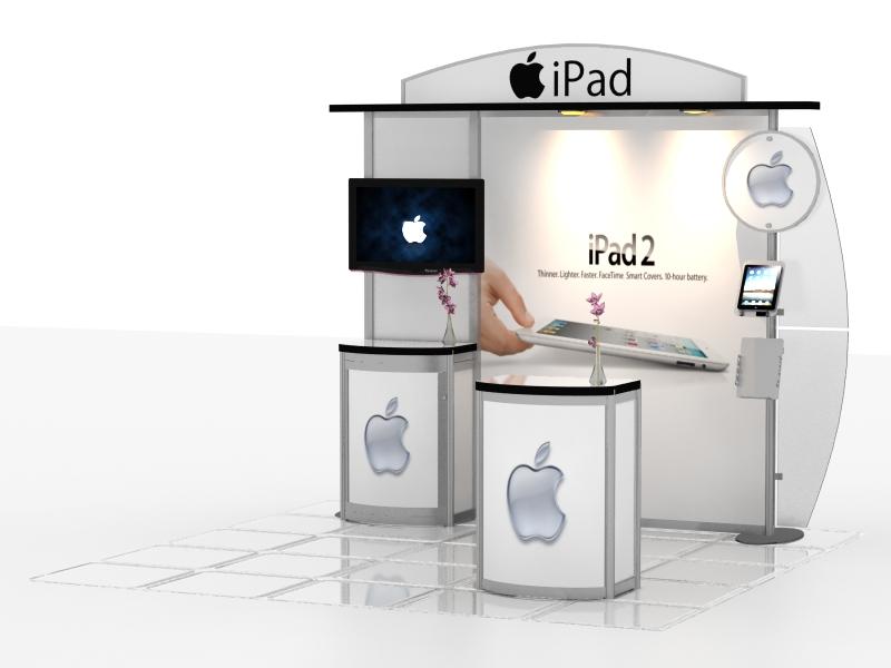 Exhibition Booth Header : Exhibit design search vk hybrid inline modern