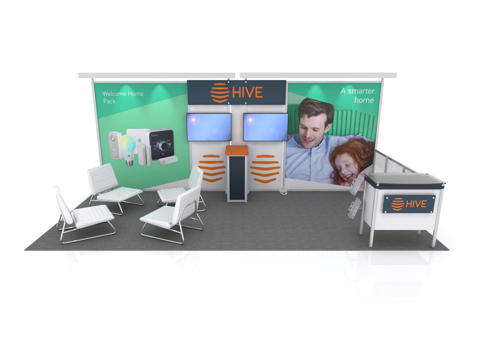 Exhibit Design Search Vk 2068 Hybrid Booth Modern