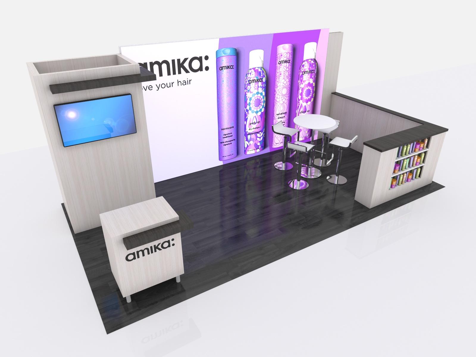 Exhibit Design Search - VK-4019 | Inline Display (Modern